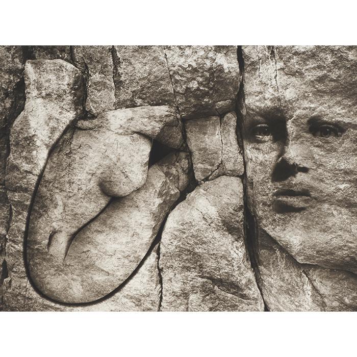 Jerry Uelsmann, (American, b. 1934), Untitled, 1985, gelatin silver print, 17