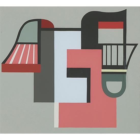 Mario Radice, (Italian, 1898-1987), 10 Tavole, 1982, color silkscreen, 9.5