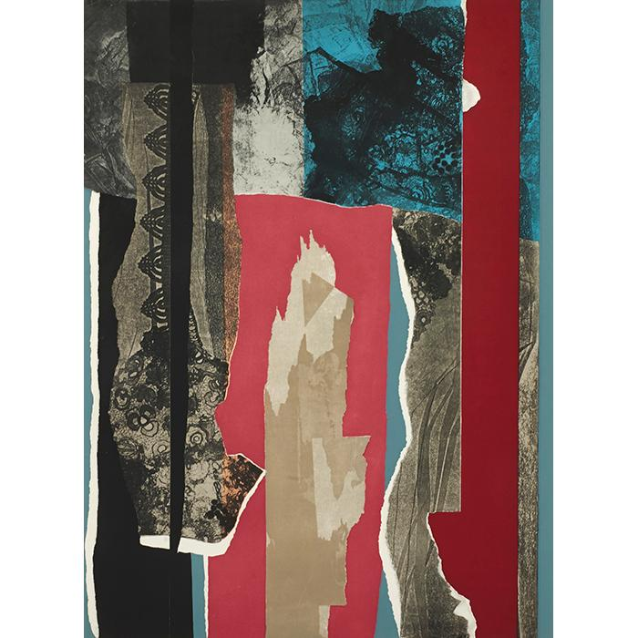 Louise Nevelson, (American, 1989-1988), Reflections III, 1983, color etching, 39