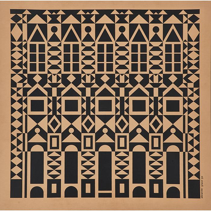 Alexander Girard (1907-1993) for Herman Miller #3005 Facade Environmental Enrichment Panel 46