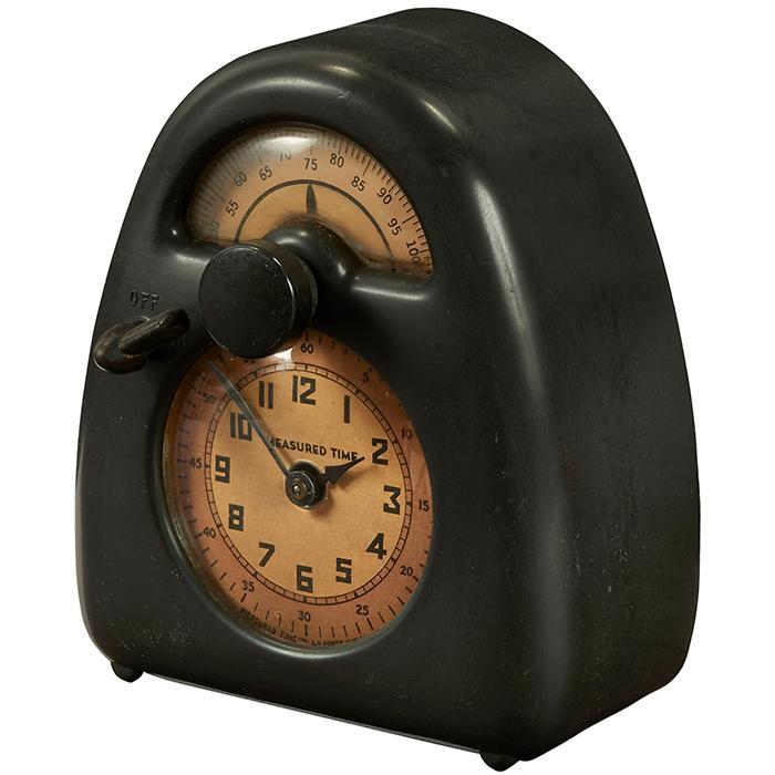 Isamu Noguchi (1904-1988) for Stevenson Mfg. Co. Measured Time clock and kitchen timer 5.5