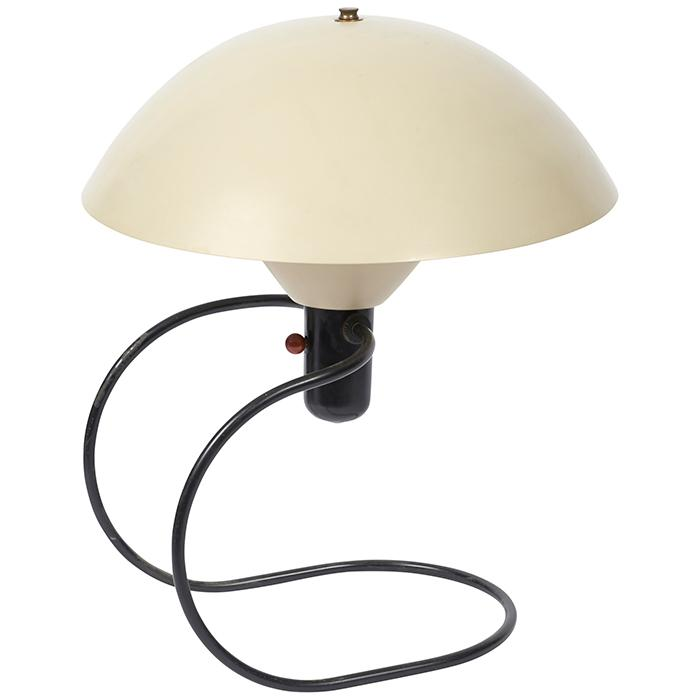 Greta Von Nessen (1900-1975) for Nessen Studio Anywhere table or wall lamp 14.5