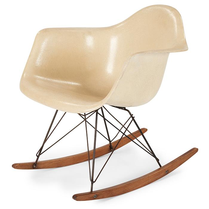 Charles Eames (1907-1978) & Ray Eames (1912-1988) for Herman Miller RAR rocking chair 25