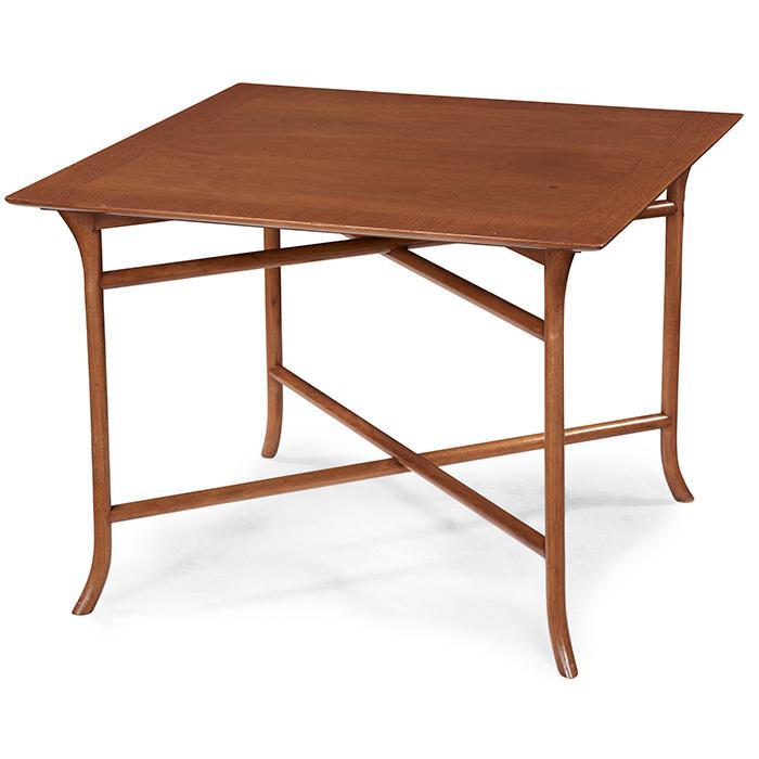 T.H. Robsjohn-Gibbings (1905-1976) for Widdicomb occasional table 30x30x22.5