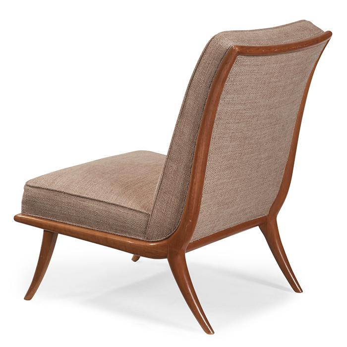 T.H. Robsjohn-Gibbings (1905-1976) for Widdicomb Slipper chair, model 2009 23.5