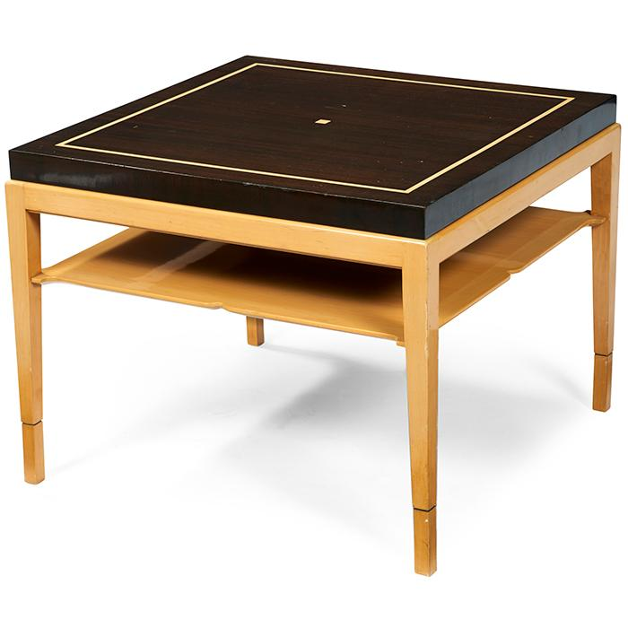 Tommi Parzinger (1903-1981) for Parzinger Originals occasional table 28.75
