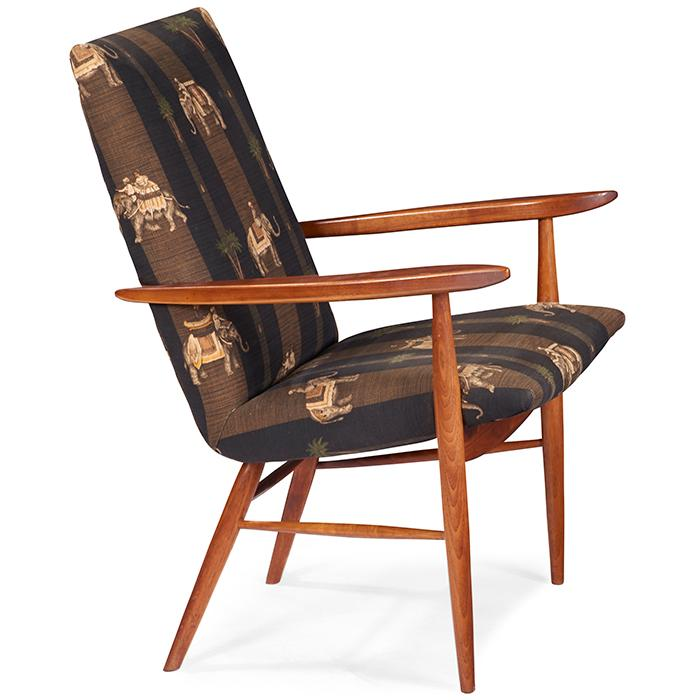 George Nakashima (1905-1990) for Widdicomb Origins armchair, model 206-W 25.25