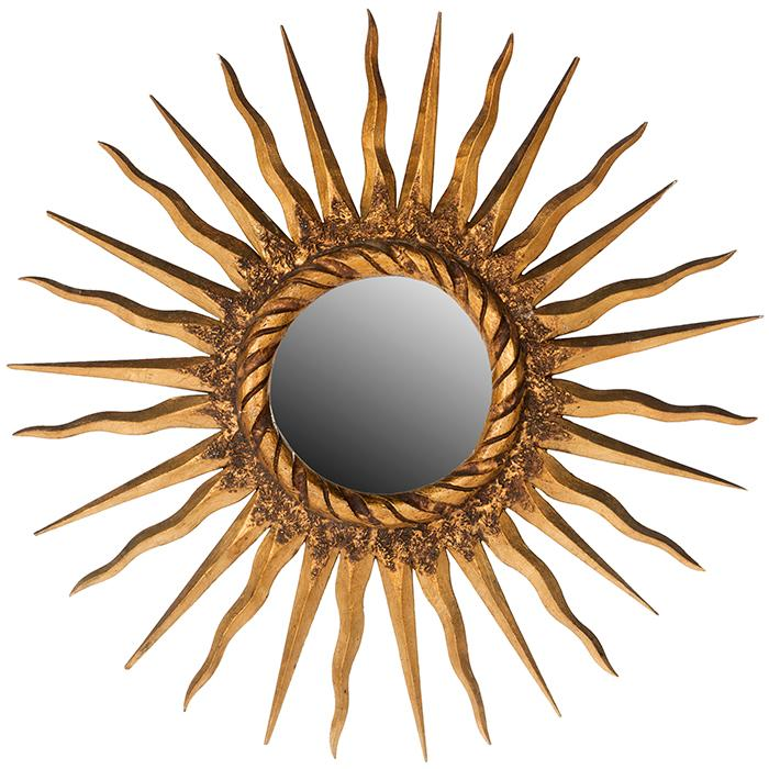 French Starburst wall mirror 24