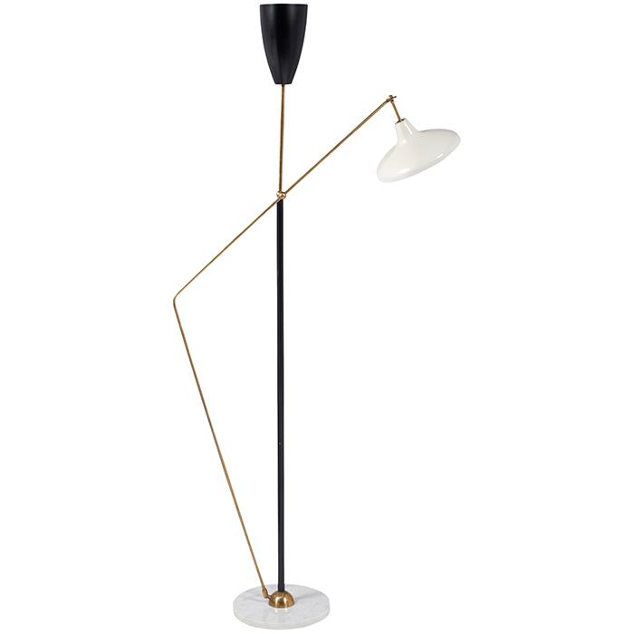 French Modernist articulated floor lamp 35