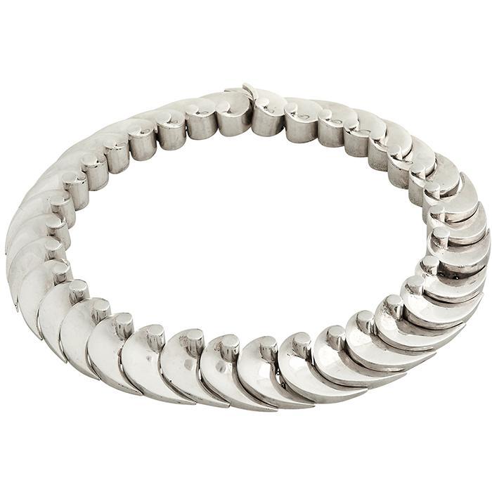 Antonio Pineda (1919-2009) Wave necklace 6
