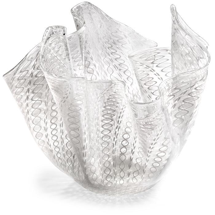 Venini Large Fazzoletto (handkerchief) vase 12