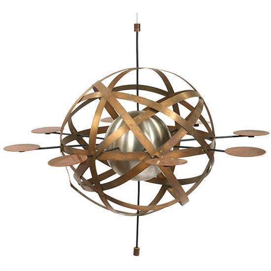 Val Bertoia (b. 1949) Sputnik hanging sculpture, B-1062 52