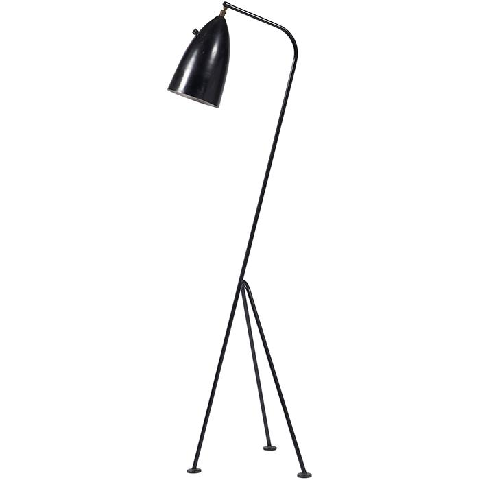 Greta Magnusson-Grossman (1906-1999) for Ralph O. Smith Grasshopper floor lamp 14.5