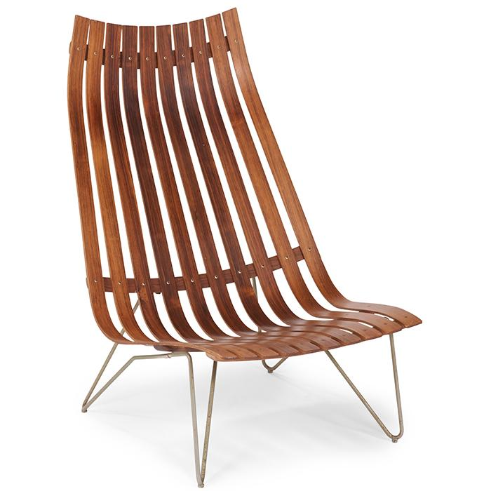 Hans Brattrud for Hove Mobler Scandia lounge chair 29