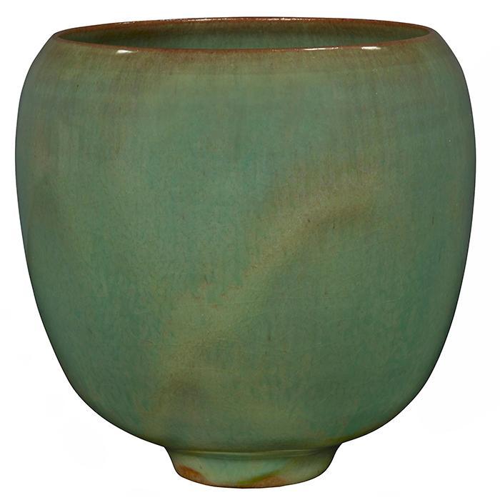 Gertrud (1908-1971) and Otto Natzler (1908-2007) vase 3.75