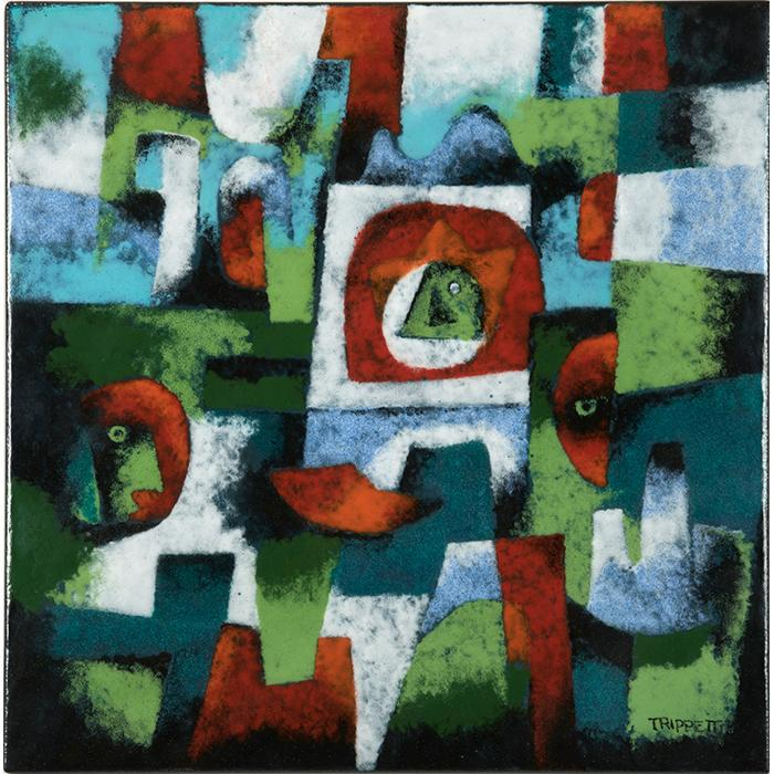Joseph Trippetti (b. 1923) Abstract 12