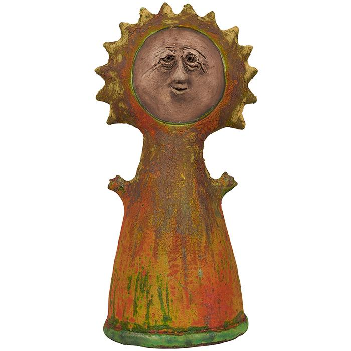 Stan Bitters (b. 1937) large Sun Person 11.5