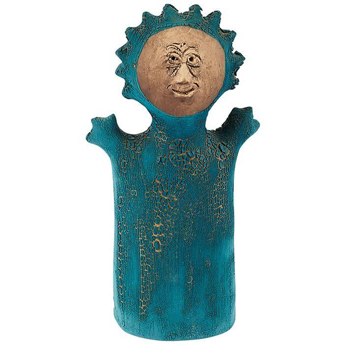 Stan Bitters (b. 1937) Sun People sculpture 5