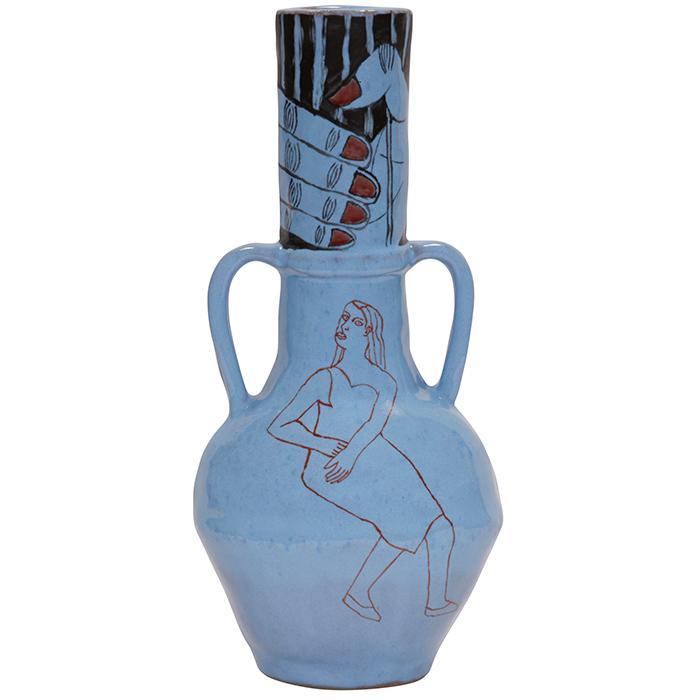 Hylton Nel (Zambian, b. 1941) vase 6.5
