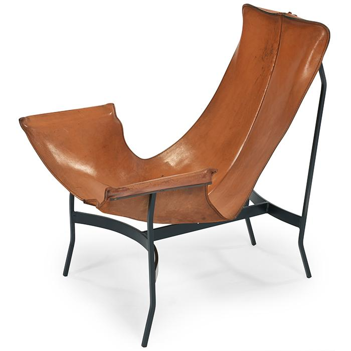 Leathercrafter, attributed to William Katavolos Smoker Chair lounge chair 26
