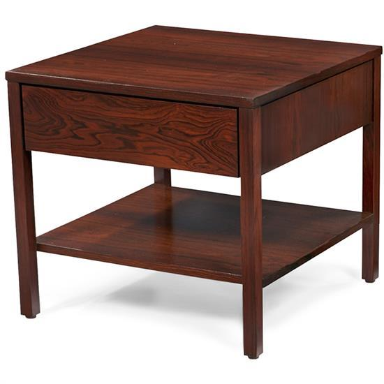 Florence Knoll (b. 1917) for Knoll Associates end table or night stand 19.5