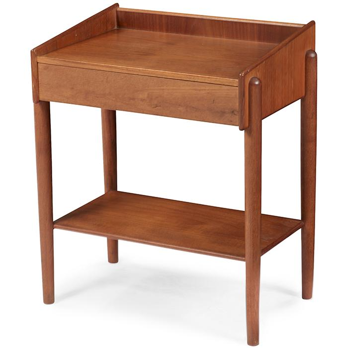 Borge Mogensen (1914-1972) for Soborg Mobler small nightstand, model 148 18.5