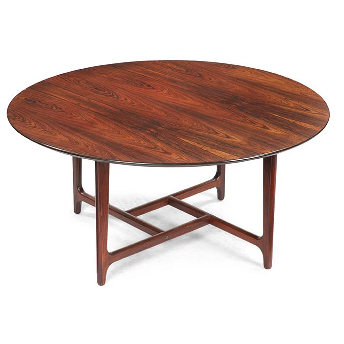 Heltborg Mobler for Domus Danica rosewood coffee table 41.75