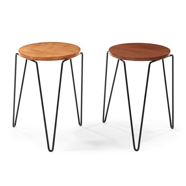 Florence Knoll B 1917 For Knoll Associates Stacking Stool
