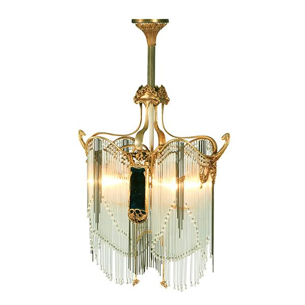 After hector guimard 1847 1942 chandelier 22w x 10d x 36 after hector guimard 1847 1942 chandelier 22 aloadofball Image collections