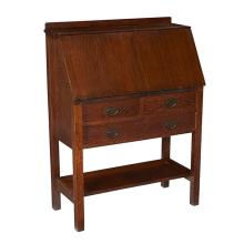 Gustav Stickley drop-front desk, #731 32