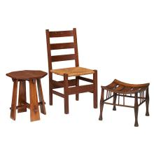 Gustav Stickley side chair, #306 1/2 chair: 17