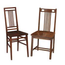 Michigan Chair Company chairs, two larger: 17