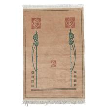 Contemporary Roycroft Scottish Rose rug 48