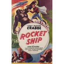 Filmcraft / Larry Buster Crabbe Rocket Ship movie poster 27