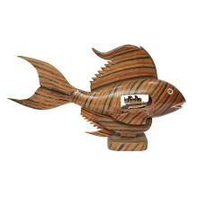 Artist Unknown , Fish Lamp (Hawaii 48), wood and mixed media, 19