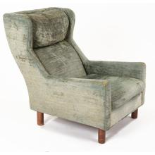 Milo Baughman for Selig, attribution lounge chair 32