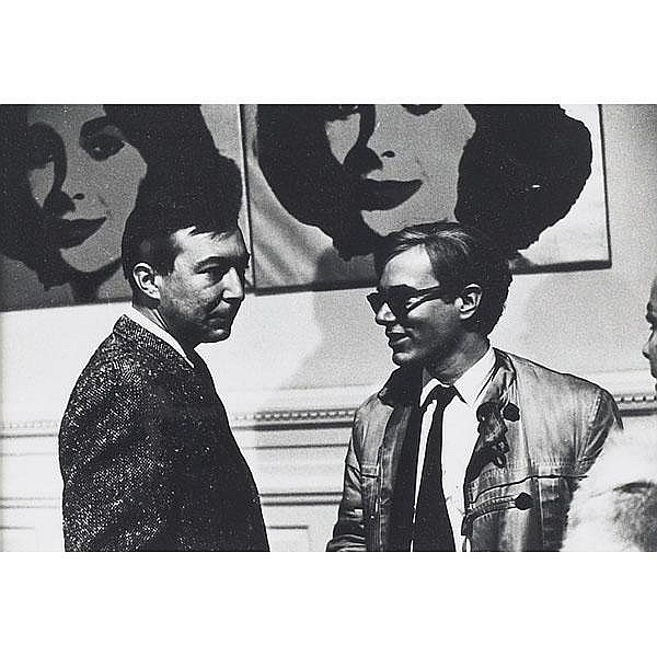 Billy Name, Andy Warhol Andrew Weber,  photograph