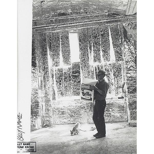 Billy Name , Andy Warhol, Brillo, photograph
