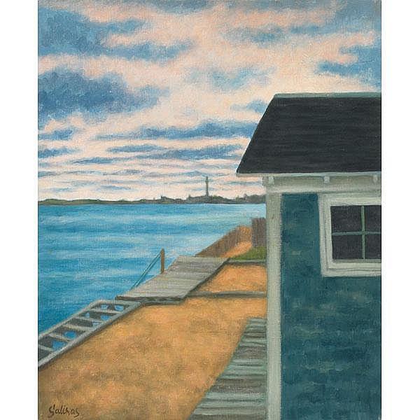 Marcel Charles Laurent Salinas, Provincetown, oil