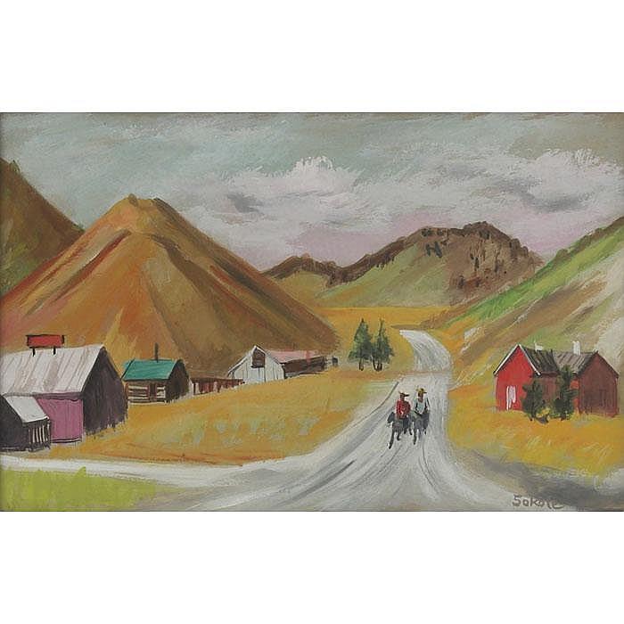 Miron Sokole (American, 1901-1985)