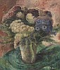 Edna Wolff (Henner) Maschgan (American, 1907-2001), 'Floral Still Life', c. 1950; oil/board, 28in. x 24in, signed., Edna Wolff Maschgan, Click for value