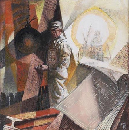 Siegfried Reinhardt (German/American, b. 1925),