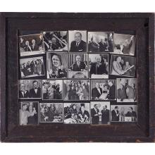 Political Photography vintage pictures of Mayor Daley, Butch McGuire and others largest frame: 25 3/8