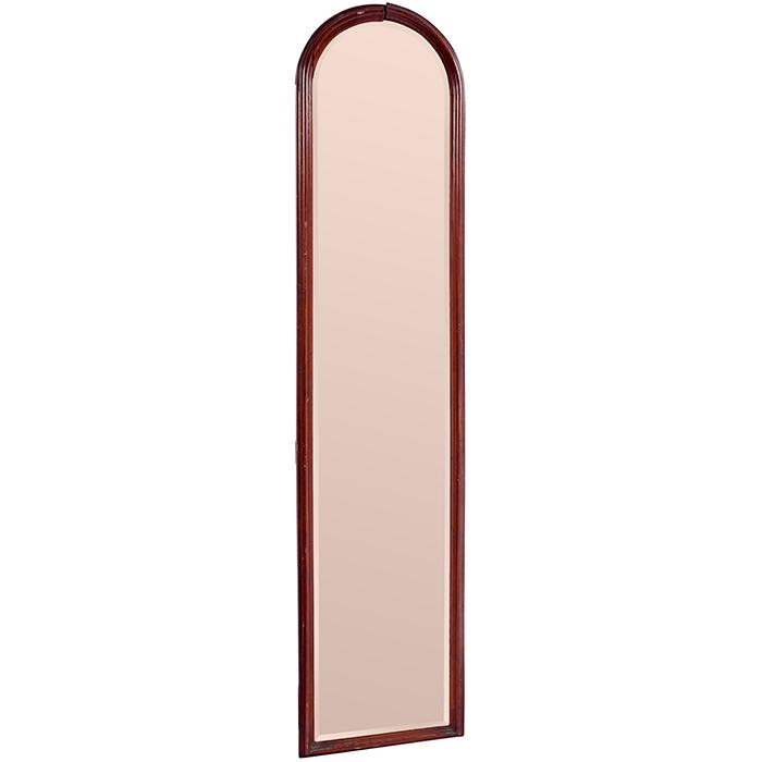 Antique tall and slender wall mirror 12 3 4 w x 58 5 8 h for 4 x 5 wall mirror