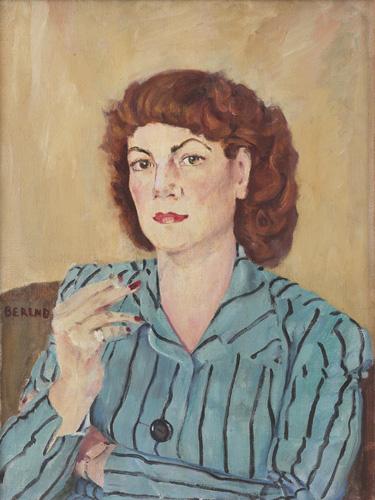 Charlotte Berend-Corinth, Portrait, oil