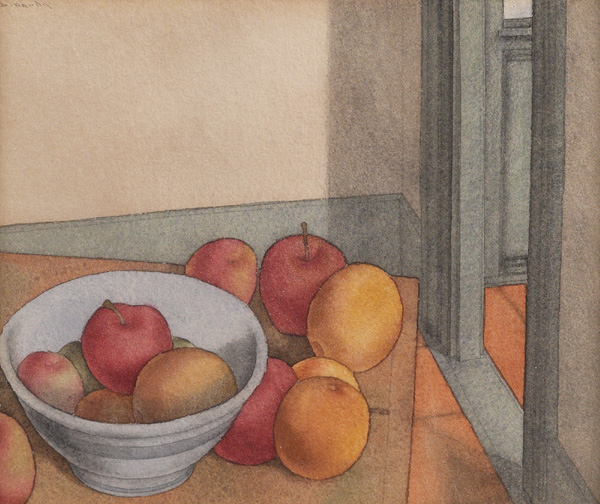 Dewitt Hardy, Still Life, watercolor