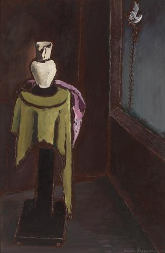 Frances Cranmer Greenman, Still Life, oil/board