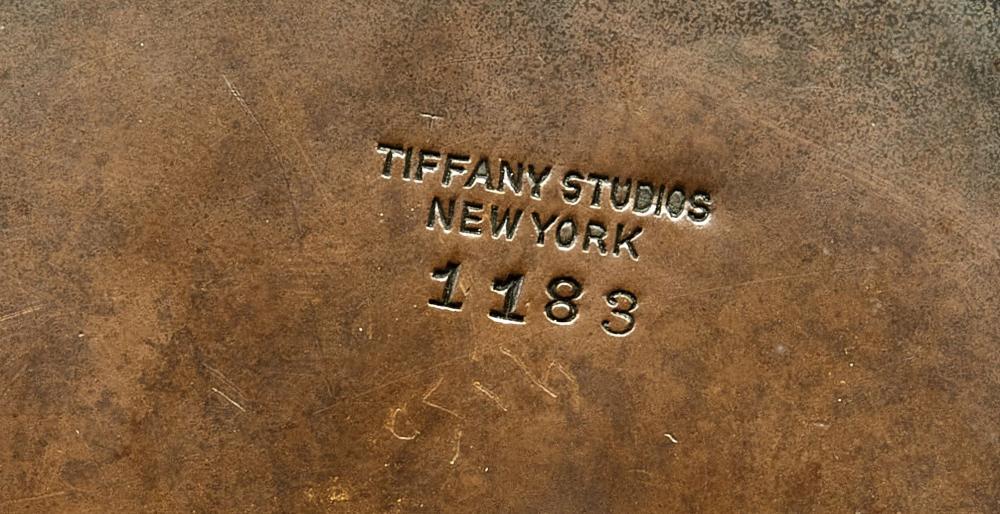 Tiffany Studios inkwell
