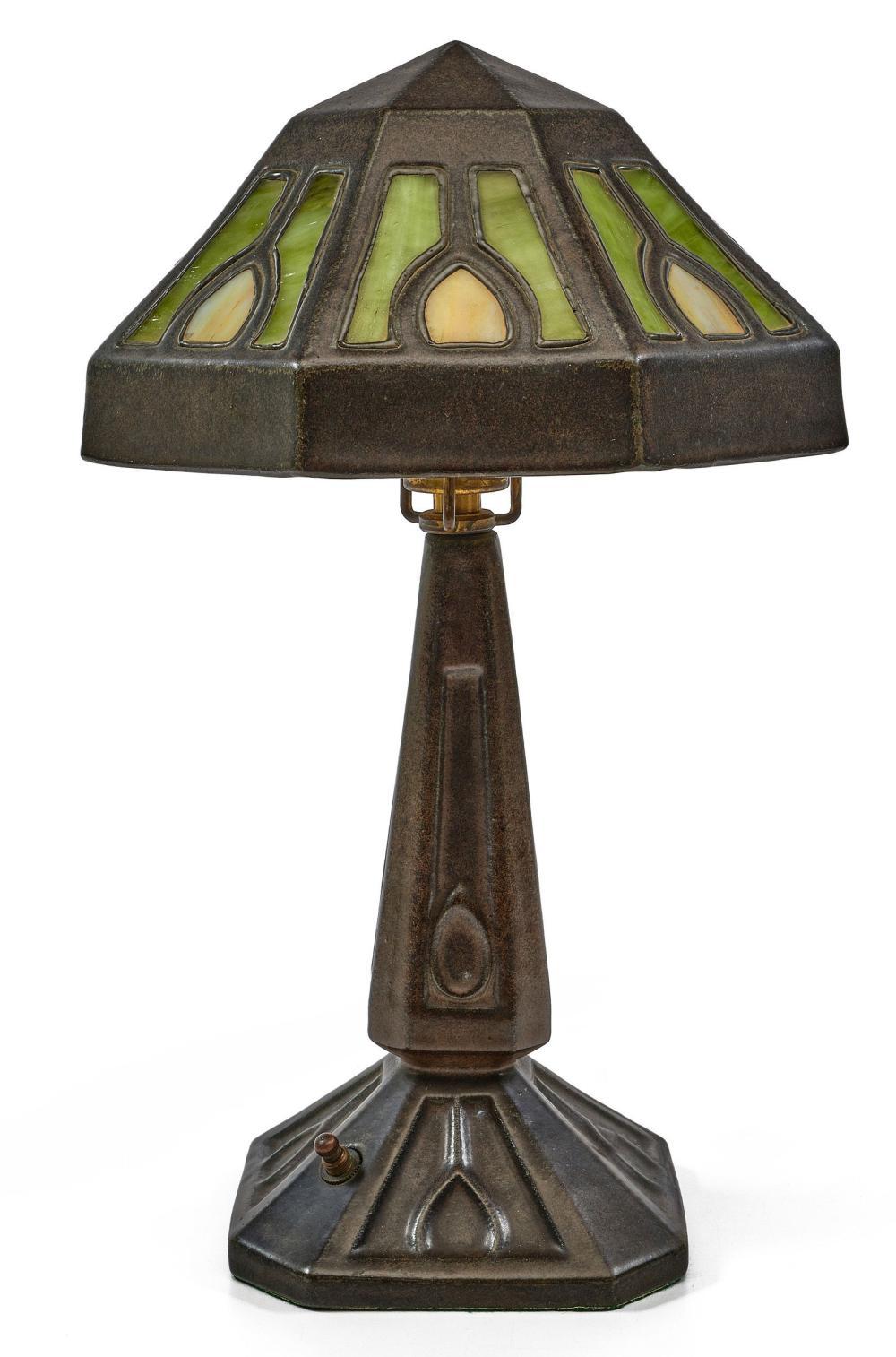 Fulper lamp