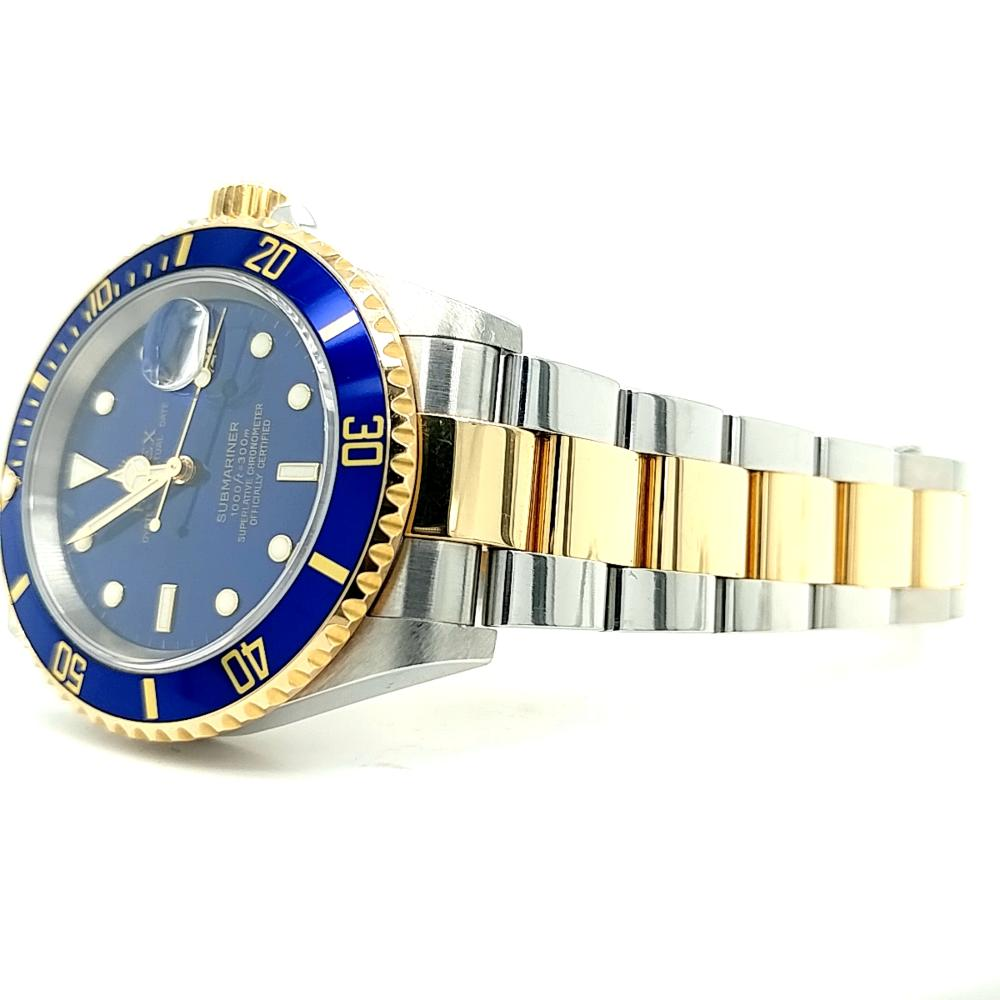 ROLEX TWO-TONE OYSTER PERPETUAL SUBMARINER WATCH